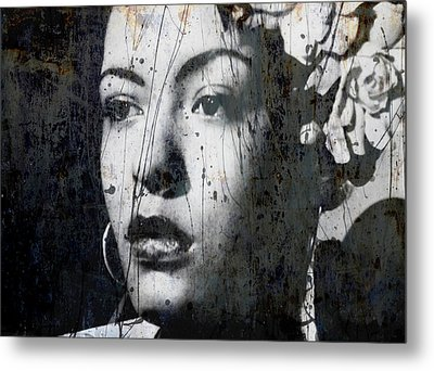 Metal Print featuring the mixed media This Ole Devil Called Love  by Paul Lovering