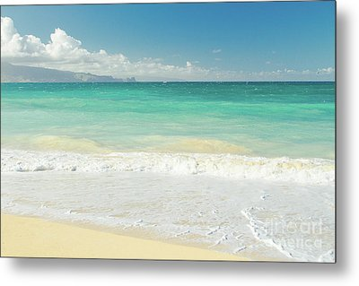 Metal Print featuring the photograph This Paradise Life by Sharon Mau