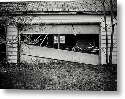 This Was Once The Perfect Hideout Metal Print