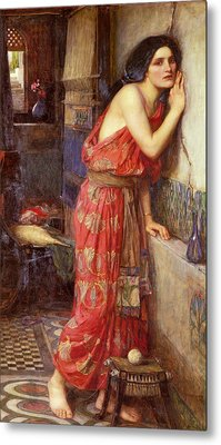 Thisbe Metal Print by John William Waterhouse