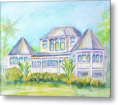Thistle Lodge Casa Ybel Resort  Metal Print by Carlin Blahnik