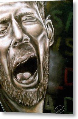 Thom Yorke Metal Print by Zach Zwagil