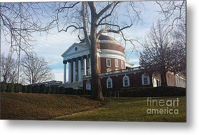 Thomas Jefferson's Rotunda Metal Print