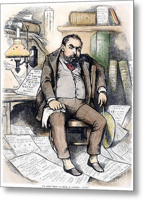 Thomas Nast (1840-1902) Metal Print