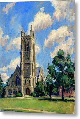 Thompson Chapel Williams College Metal Print by Thor Wickstrom
