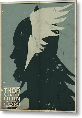 Thor Metal Print by Michael Myers
