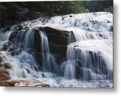 Thoreau Falls - White Mountains New Hampshire Usa Metal Print by Erin Paul Donovan