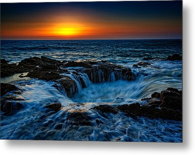 Thor's Well II Metal Print