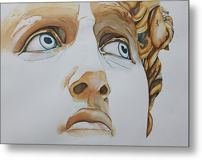 Those Eyes Metal Print