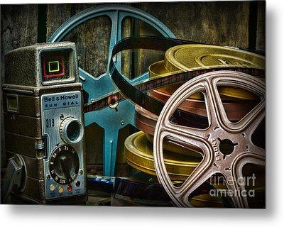 Those Old Movies Metal Print by Paul Ward