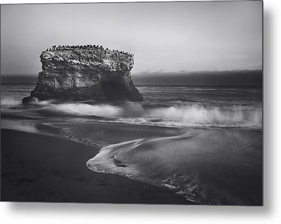 Though The Tides May Turn Metal Print