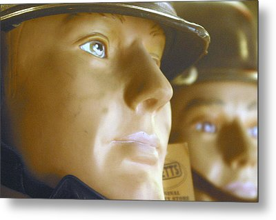 Thoughts Of Pre War Days Metal Print by Jez C Self