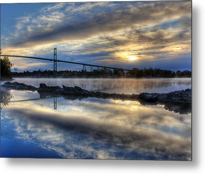 Thousand Islands Bridge Metal Print