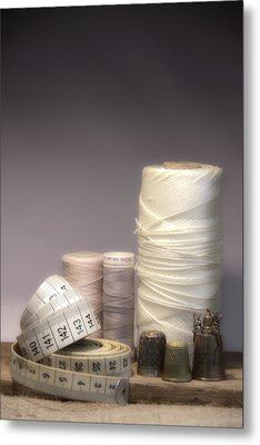 Thread And Twine Combine Metal Print by Taschja Hattingh