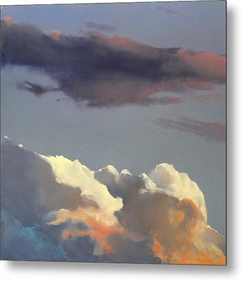 Three Clouds Sold Metal Print by Cap Pannell