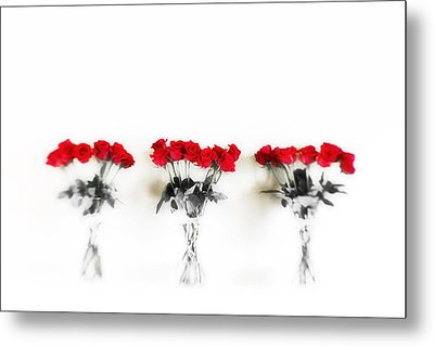Three Dozen Roses Metal Print by Scott Pellegrin