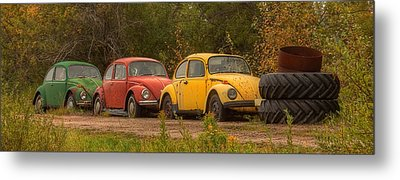 Three For The Road Metal Print