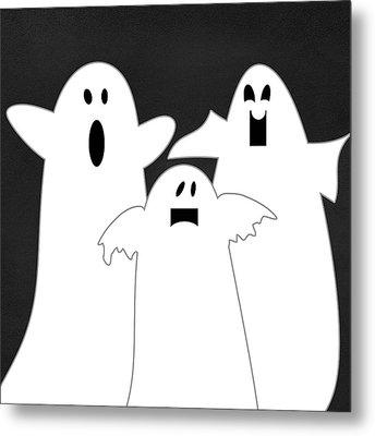Three Ghosts Metal Print