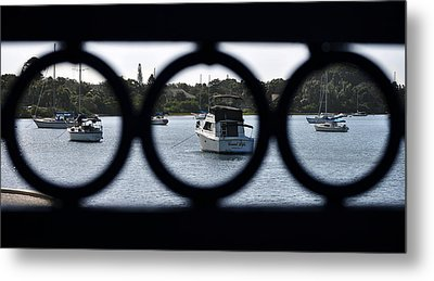 Metal Print featuring the photograph Three In One by John Knapko