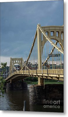 Three Sisters Bridges Metal Print