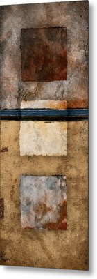 Three Squared Series Of Two Metal Print by Carol Leigh