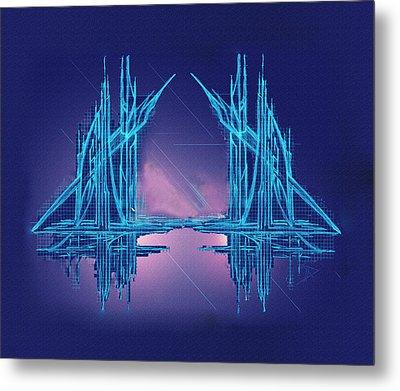 Threshold Metal Print by Don Quackenbush