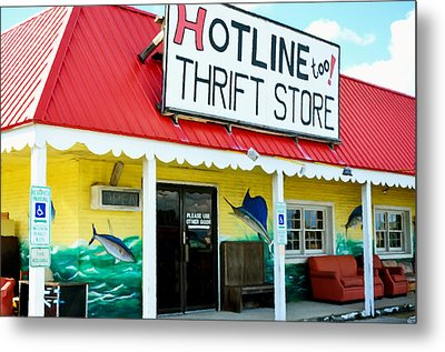 Thrift Store Metal Print by Lanjee Chee