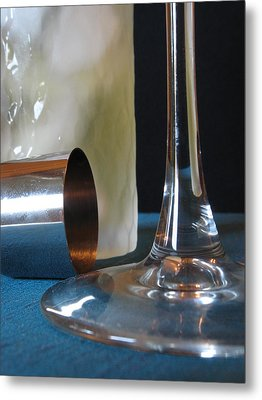 Metal Print featuring the photograph Thristy by Kim Pascu
