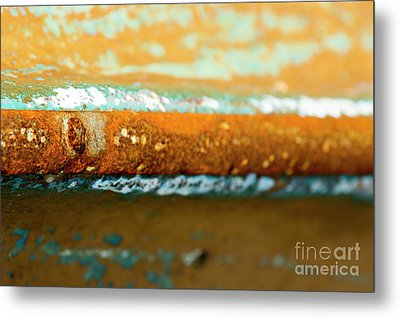 Metal Print featuring the photograph Through The Centre by Wendy Wilton