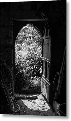 Metal Print featuring the photograph Through The Door by Clare Bambers