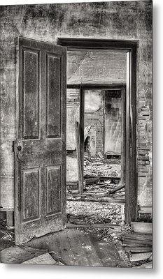 Through The Doors Of Time Metal Print by JC Findley