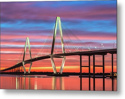 Metal Print featuring the photograph Through The Flame by Bernard Chen
