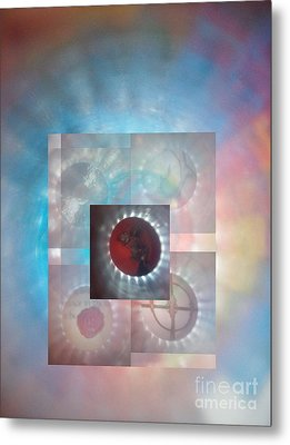 Through The Looking Glass Metal Print by Sean-Michael Gettys