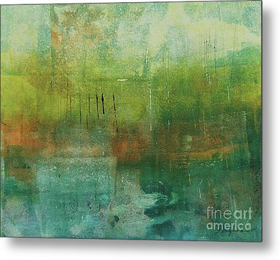 Through The Mist Metal Print