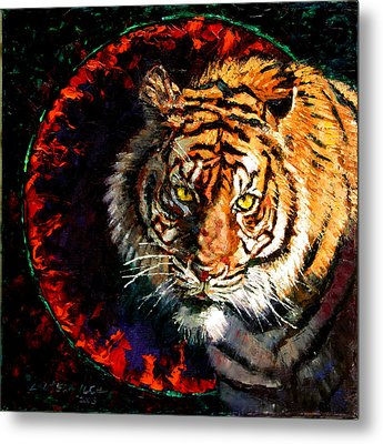 Through The Ring Of Fire Metal Print