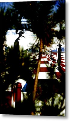 Through The Trees Metal Print by Jez C Self