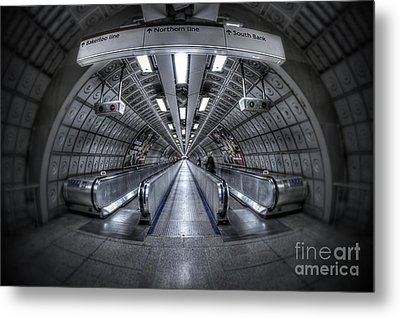 Through The Tunnel Metal Print