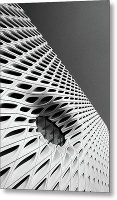 Through The Veil- By Linda Woods Metal Print