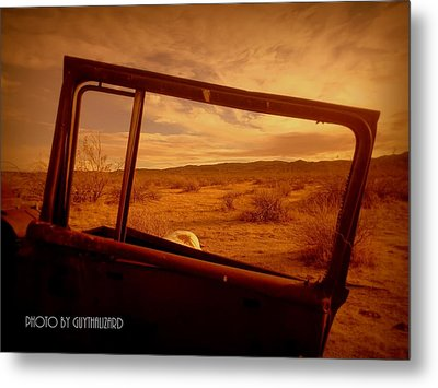 Thruthewindow Metal Print