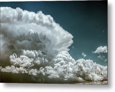 Thunder Head Metal Print