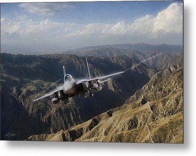 Thunder Mountain Eagle Metal Print