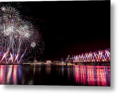 Thunder Over Louisville Metal Print