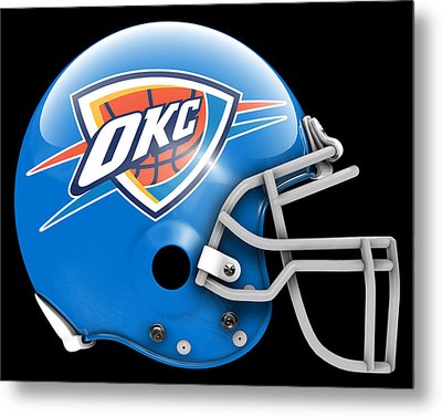 Thunder What If Its Football Metal Print by Joe Hamilton