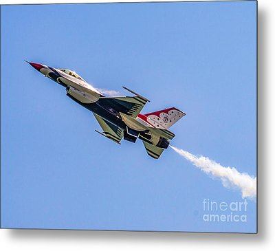 Metal Print featuring the photograph Thunderbird #5 by Nick Zelinsky