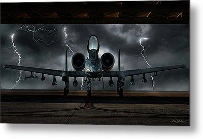 Thunderbolt And Lightning Metal Print