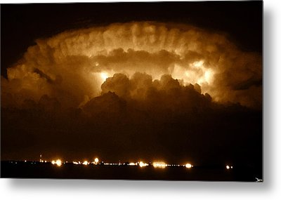 Thundercloud Metal Print by David Lee Thompson