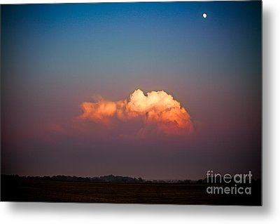Thunderhead At Dusk Metal Print by Ryan Kelly
