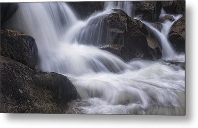 Metal Print featuring the photograph Thundering River by Tim Reaves