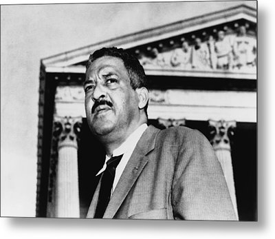 Thurgood Marshall, Naacp Chief Counsel Metal Print by Everett