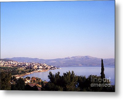 Tiberias Sea Of Galilee Israel Metal Print by Thomas R Fletcher
